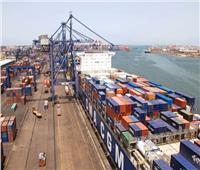 تفريغ 6600 طن رخاموحديد بميناء غرب بورسعيد