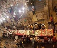 الله محبة| مسلمون ومسيحيون على مائدة رمضان في عزبة النخل