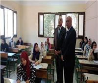 محافظ الجيزة يتابع سير امتحانات الشهادة الإعدادية