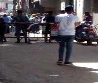 الصور الأولى من حادث مقتل كاهن كنيسة في شبرا الخيمة