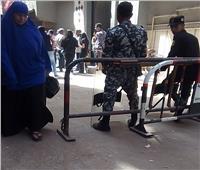فريق من النيابة يعاين موقع مقتل كاهن كنيسة بشبرا الخيمة
