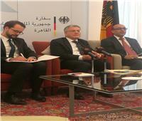 السفير الألماني بالقاهرة: الزيادة السكانية في مصر تهدد بأزمة نقص في المياه