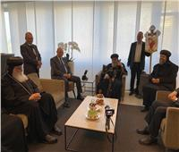 البابا تواضروس يصل سويسرا في زيارة رعوية