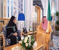 خادم الحرمين يستقبل رئيس المجلس الوطني الإماراتي