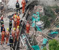 إنقاذ 11 شخصا من تحت الأنقاض بعد انهيار مبنى في الصين