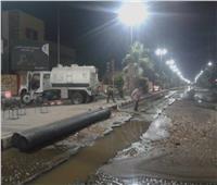 محافظ أسيوط: كسر ماسورة مياه بالخط الرئيسي أمام الجامعة.. وجاري الإصلاح