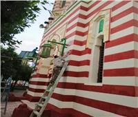 محافظ أسيوط: استمرار أعمال طلاء مسجد عمر مكرم وكوبري فيصل