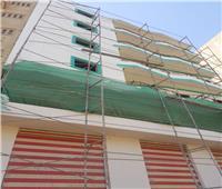 بدء تنفيذ خطة طلاء واجهات المباني والنوافذباللون الموحد بالشرقية