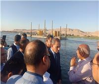 وزير النقل ومحافظ أسيوط يتفقدان أعمال تنفيذ مشروع محور ديروط