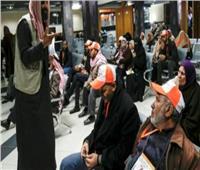 سفر الفوج الـ 12 من المعتمرين الفلسطينيين إلى السعودية