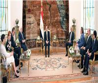 السيسي: مصر حريصة على إعلاء مبدأ المواطنة وترسيخ ثقافة التعددية