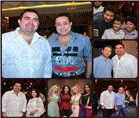 صور| مشاهير الفن في حفل سحور ياسر سليم