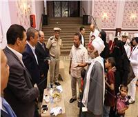 محافظ سوهاج يشارك أسر شهداء ومصابي الشرطة الإفطار الجماعي