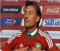 مدرب منتخب المغرب يحضر نهائي الكونفيدرالية