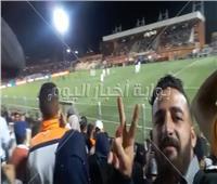 خاص| فيديو وصور.. فرحة جمهور نهضة بركان بعد الفوز على الزمالك