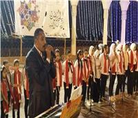 ختام فعاليات احتفالات ثقافة المنيا بليالى رمضان على المسرح المكشوف