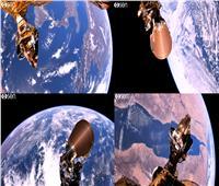 فيديو وصور| القمر المصري يلتقط فيديو للكرة الأرضية بتقنية 4K