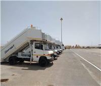 مطار مرسي مطروح جاهز لاستقبال الرحلات الصيفية