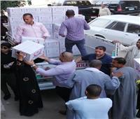 25 ألف كرتونة رمضانية لمؤسسة محمد سالمان الخيرية في 44 قرية بأسيوط