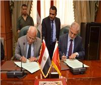 توقيع عقد تمليك لأكبر مصنع لإنتاج النسيج في بورسعيد