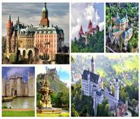 شاهد| أجمل القلاع الساحرة من العصور الوسطى