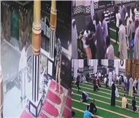 فيديو| مُصلي يُلقي ربه ساجدًا في الغردقة