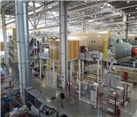 «بوابة أخبار اليوم» داخل خط التجميع النهائي لطائرة «إيرباص A350»