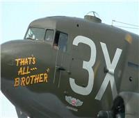 شاهد| أول طائرة إنزال للجنود الأمريكيين في الحرب العالمية الثانية