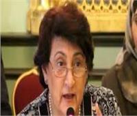 فادية كيوان مدير عام منظمة المرأة العربية تؤدي القسم أمام أبو الغيط