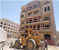 جهاز مدينة القاهرة الجديدة يكثف حملات إزالة المخالفات