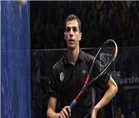 علي فرج يتأهل إلى ربع نهائي بطولة «علام» البريطانية للاسكواش