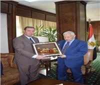 مكرم محمد أحمد يبحث مع السفير الفلسطيني بالقاهرة جهود مصر في دعم القدس