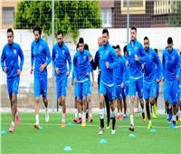 «السعيد والنقاز» يدعمان لاعبي الزمالك في مران الفريق