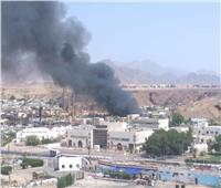 بسبب الحر.. حريق أحد المولات في السوق التجاري القديم بشرم الشيخ