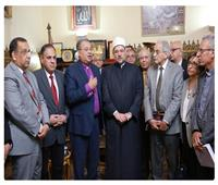 رئيس الطائفة الإنجيلية يهنئ وزير الأوقاف بعيد الفطر المبارك