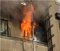 إصابة شخصان فى حريق بمنزل من ثلاث طوابق بمنزل بدمنهور