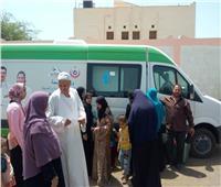 القوافل الطبية العلاجية المجانية تجوب قرى البحيرة في نهار رمضان