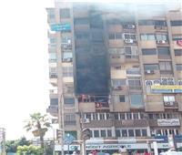 احتراق واجهة عقار من 5 طوابق بمصر الجديدة