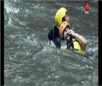 ماغي بو غصن تفقد الوعي في رامز فى الشلال بعد فتح الكوبري