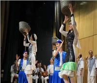 فرقة بورسعيد للفنون الشعبية تقدم عرضا فنيا على مسرح «الصحفيين»