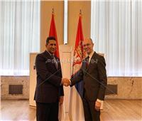 سفير مصر في بلجراد يناقش إعداد الجنة الاقتصادية المشتركة مع صربيا