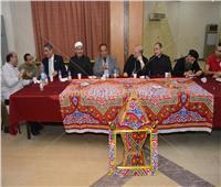 صور| حفل إفطار الوحدة الوطنية بجامعة عين شمس