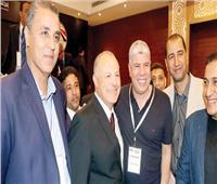 اجتماع الأزمة| شوبير وسيد عبد الحفيظ يصلان مقر اتحاد الكرة