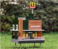 شاهد| أصغر مطعم لـ««ماكدونالدز»» في العالم بالسويد مخصص للنحل