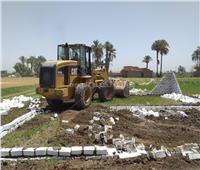 إزالة 8 حالات تعدي على الأراضي الزراعية وأملاك الدولة بسوهاج