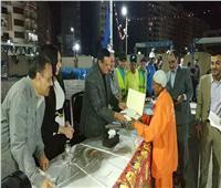 محافظ البحيرة يشارك العاملين بمنظومة النظافة حفل الإفطار السنوى