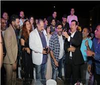 صور| النجوم في عيد ميلاد وليد منصور بخيمة «سهراية»