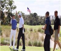 «ترامب وآبي» يحرصان على لعب الجولف خارج طوكيو