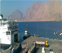 تداول 482 شاحنة بضائع عامة و543 سيارة بموانئ البحر الأحمر