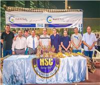 بالصور| نادي هليوليدو يختتم البطولة الرمضانية لأشبال كرة اليد